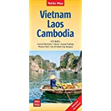 Nelles Map Landkarte Vietnam - Laos - Cambodia: 1:1,5 Mio | reiß- und wasserfest; waterproof and tear-resistant; indéchirable et imperméable; irrompible & impermeable