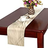 QYUESHANG Cats Eyes Animal Cute Fur Cute Cat Domestic Gray Table Runner, Kitchen Dining Table Runner 16 X 72 Inch for Dinner Parties, Events, Decor