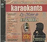 Juan Gabriel (2CDs 40 Pistas Musicales y Karaoke Volumen#26 CDJ-7026)