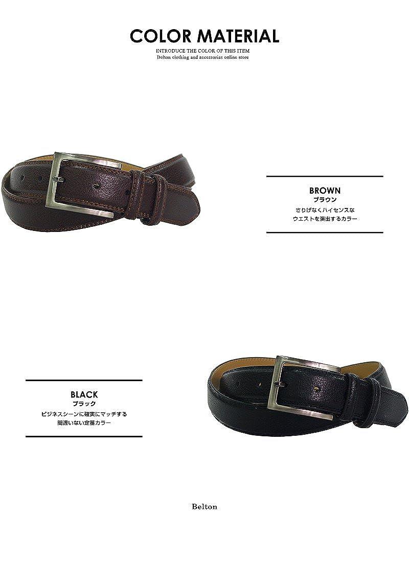 Belton Mens leather belt W Loop