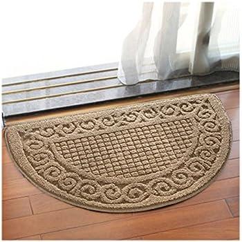Amazon Lesirit Half Round Doormat Non Slip Mats Vintage Indoor