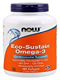 NOW Eco-Sustain Omega-3 , Molecularly Distilled,180 Softgels Review