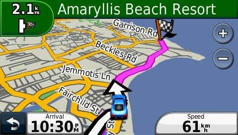 Amazoncom Aruba GPS Map on SD Card Garmin Compatible