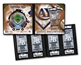 MLB Tampa Bay Rays Ticket Album, Small, White