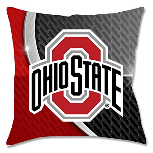 Ohio State Flash Toss Pillow 18