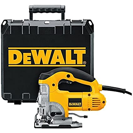 Dewalt dw331k 65 amp top handle jig saw power jig saws amazon dewalt dw331k 65 amp top handle jig saw greentooth Images