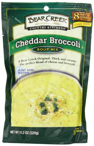 Bear Creek Country Kitchens Soup Mix, Cheddar Broccoli, 11.2 Ounce (Pack of 6)