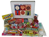 60th Birthday Gift Box Peace & Love - Retro Candy