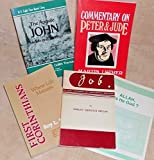 img - for 5 BOOK Special: Job: An Early Document of Fundamental Doctrines, FIRST CORINTHIANS: Where Life Matures, Commentary on Peter & Jude, APOSTLE JOHN: His Life & Writings AND Allah is He God? book / textbook / text book