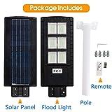 DengMall Solar Street Lights Outdoor 90W, Dusk to