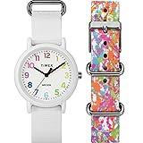 Timex Weekender Color Rush conjunto con caja, Blanco/Splash