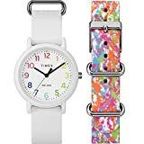 Timex Unisex TWG018200 Weekender Color Rush White/Splash Box Set