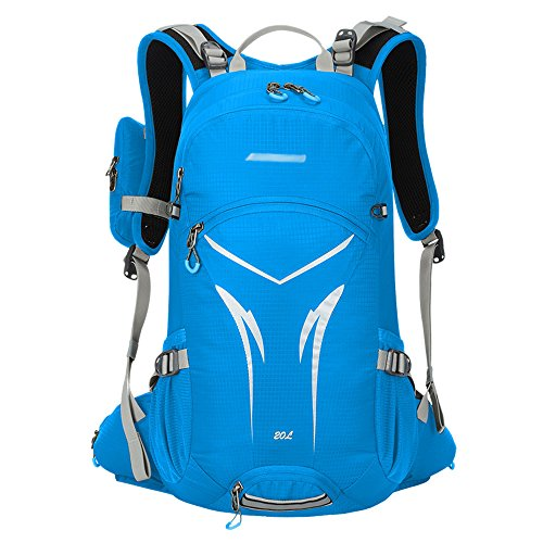Paladineer 20L Cycling Backpack Hydration Backpack Daypack for Running Hiking Cycling Blue