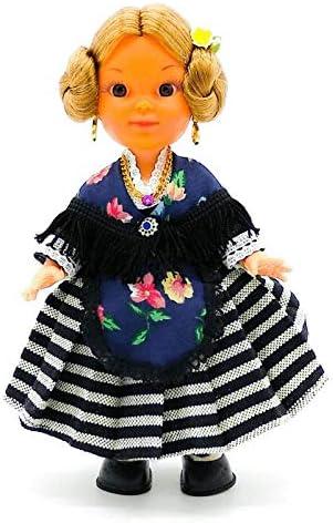 Amazon.es: Folk Artesanía Muñeca Regional colección de 25 cm con Vestido típico Extremeña Extremadura España.: Juguetes y juegos