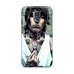 RitaSokul Samsung Galaxy S5 Bumper Mobile Cases Provide Private Custom Realistic Bring Me The Horizon Band Bmth Series [cJk14155VVAk]