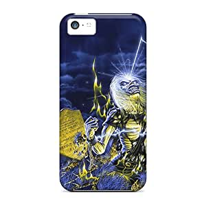 Iphone 5c APt6636wRvP Allow Personal Design Lifelike Iron Maiden Pictures Scratch Resistant Hard Phone Cases -ErleneRobinson