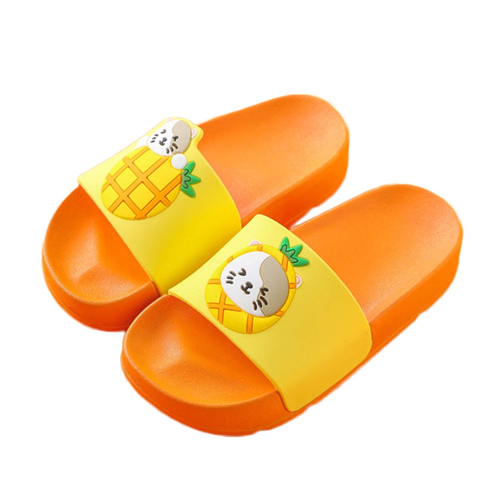 NADARDA Colorful Fruit Boys Girls Slide Sandals Non-Slip Summer Beach Pool Bath Slippers(Toddler/Little Kid)