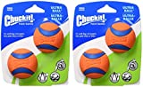 Chuckit! Ultra Ball Small 2'' 4 Pack (2 Packs of 2)