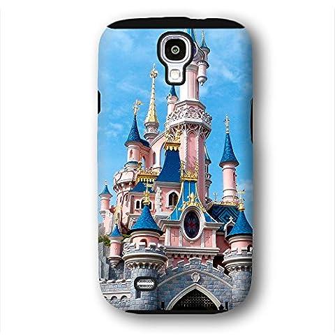 Cinderella Castle in Samsung Galaxy S4 Phone Case (Cinderella Phone Cases Galaxy S4)
