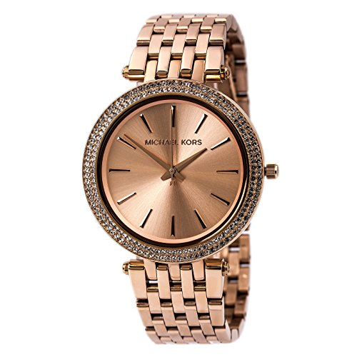 Women's Rose gold-Tone Stainless Steel Watch MK3192
