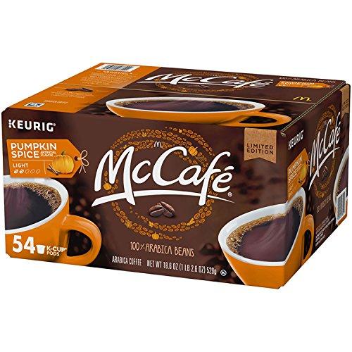 McCafé Pumpkin Spice Coffee Single Serve Pods, 54 count