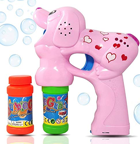 Haktoys Pink Puppy Bubble