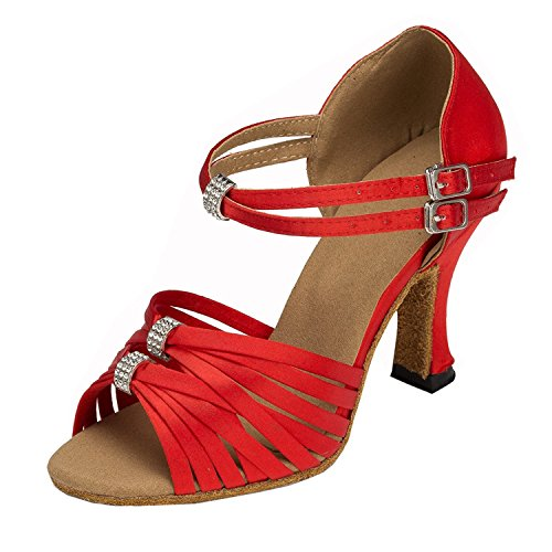 Minitoo 35 Rouge danse de femme Chaussures Rouge rxBvqCrw