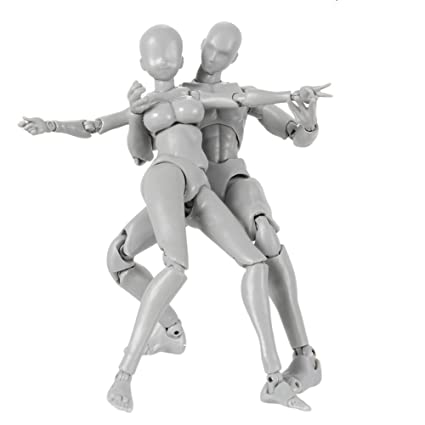 Drawing Human Mannequin Action Figure Equitment with Accessories Kit 1 Pcs Action Figure Model Figures Action Artist Painting Suitable for Sketching