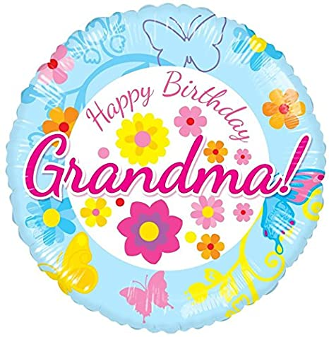 Feliz cumpleaños abuela balloon-2pk: Amazon.es: Hogar