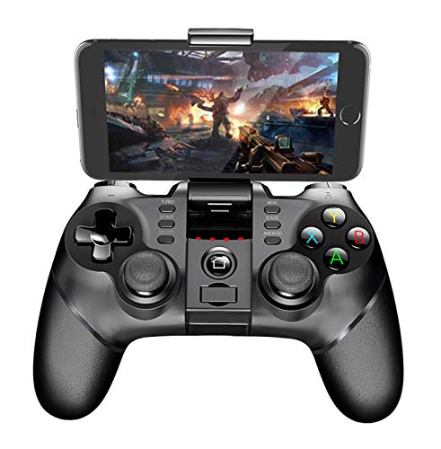 iPega PG-9076 2.4G Wireless Gamepad Controller for Samsung Galaxy S10 /S10+ S20 S20+ 5G Note 10 HW P30 P40 Oppo VIVO MI Android Devices Smartphone Tablet PS3