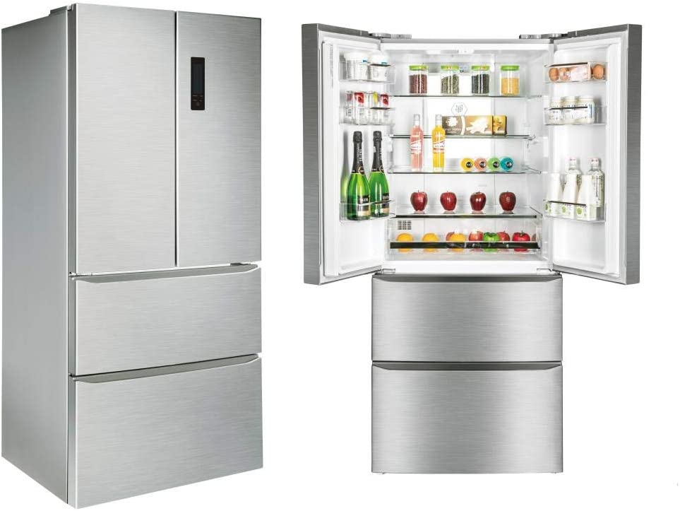 SIDE BY SIDE CORBERO CFFDML428NF NF 181X78 INOX: Amazon.es ...