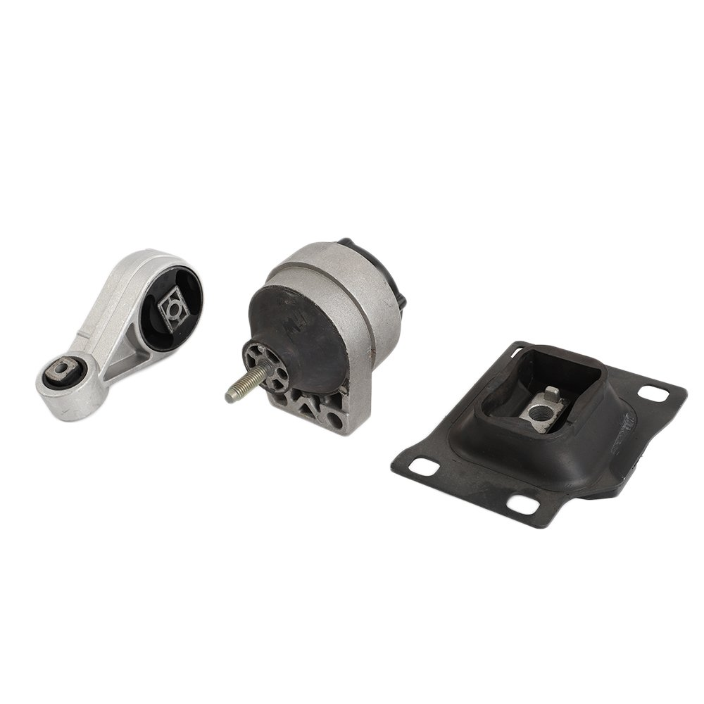 A2939 A2986 A3003 (Kit of 3 Pcs) Engine Motor Mount Front Right Trans Mount Upper Motor & Transmission Mount Fit For 2000 2001 2002 2003 Ford Focus DOHC