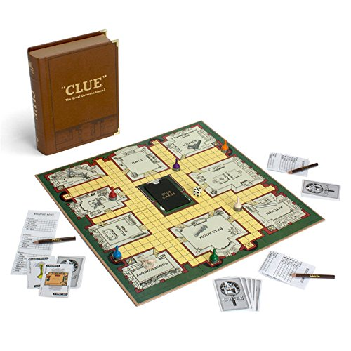"""Clue Board Game - Library Classic Edition"" by Winning Solutions"