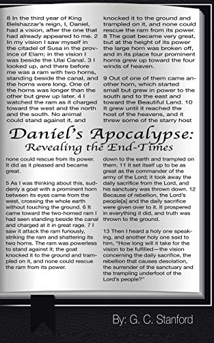 Book: Daniel's Apocalypse - Revealing the End-Times by G. C. Stanford