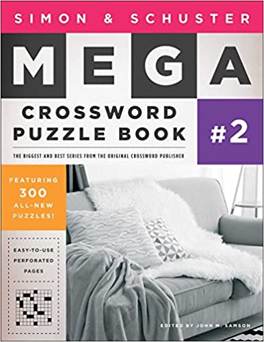 Simon & Schuster Mega Crossword Puzzle Book #2 (S&S Mega