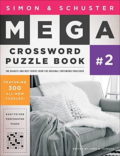 Simon & Schuster Mega Crossword Puzzle Book #2 (Simon & Schuster Mega Crossword Puzzle Books)
