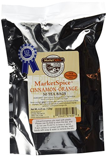 MarketSpice cinnamon-orange Teabags 50 - Orange Cinnamon Tea