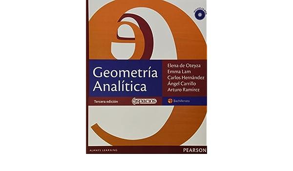 geometria analitica elena de oteyza