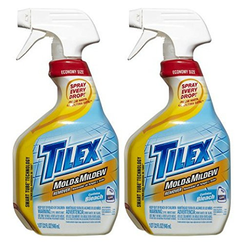 32 Ounce Mildew Remover (Tilex Mold Cleaner and Mildew Remover, Spray Bottle, 32 oz - 2 Pack)
