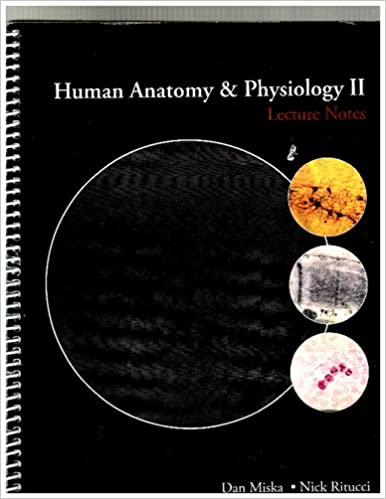Human Anatomy and Physiology 2-lecture Notes: Dan Miska -Nick R