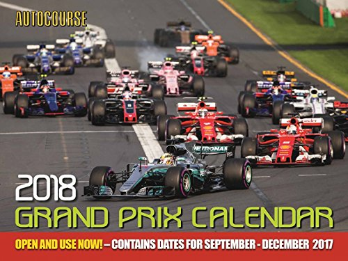 Autocourse 2018 Grand Prix Calendar - Fox Racing Icon