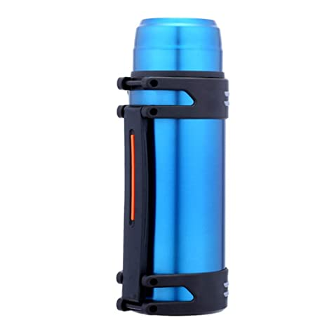 Aemiy Aislado Agua Botella Acero Inoxidable 2L Doble Pared ...
