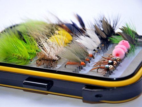 36Pieces-Dry-Fly-Wet-Fly-and-Nymph-Fly-Lure-Assotment-Fly-Box-for-Trout-Fly-Fishing-Flies