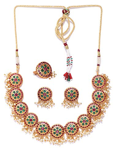 Joyeria Zircon Fashion Indian Traditional Bollywood Temple Jewellery Style Gold Plated Polki Bangles