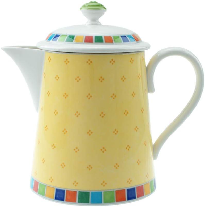 Villeroy & Boch Twist Alea Limone Cafetera, 1.25 litros, Porcelana ...