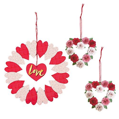 Blue Panda Valentine Decorations - Set of 3