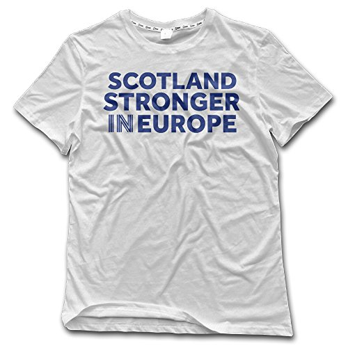 Men's SCOTLAND STRONGER IN EUROPE LAUNCH Adult T-shirt (Ottoman Friday Black)