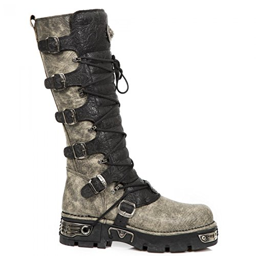 New Rock Handmade M 272 CZ02 Schwarz Unisex Stiefel