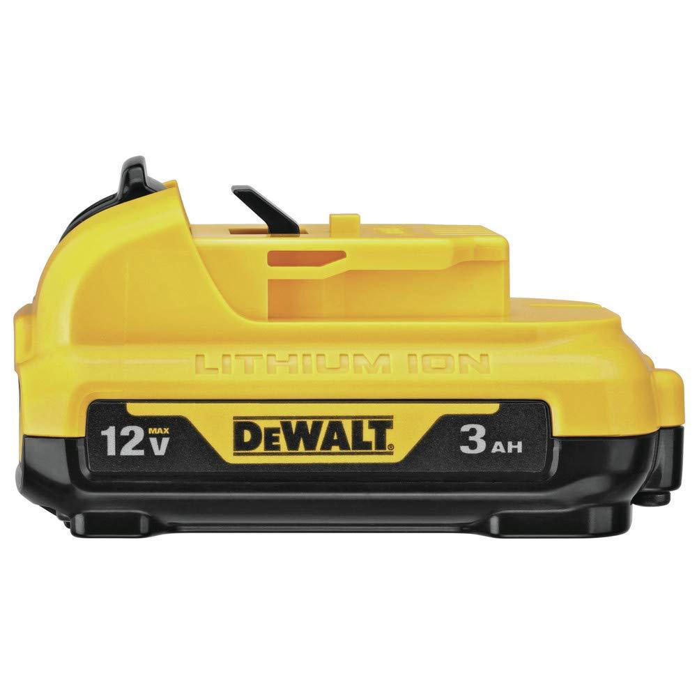 DeWalt 12V MAX 12 volt 3 Ah Lithium-Ion Battery Pack 1 pc.