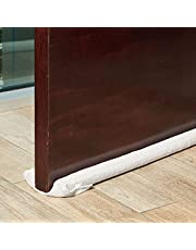 Under The Door Draft Stopper, Double-Sided 36-Inch Noise Blocker (Grey)